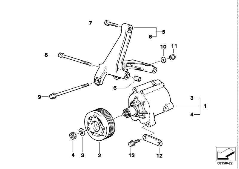 Magnetkupplung  3er Z3  (11721738946)
