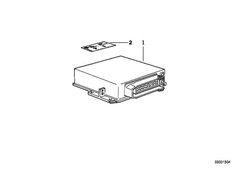 AT-Grundsteuergerät DME BMS43/ FLASH    3er Z3  (12141429696)