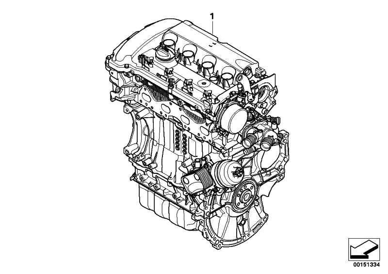 Triebwerk N14B16AB        MINI  (11002158714)