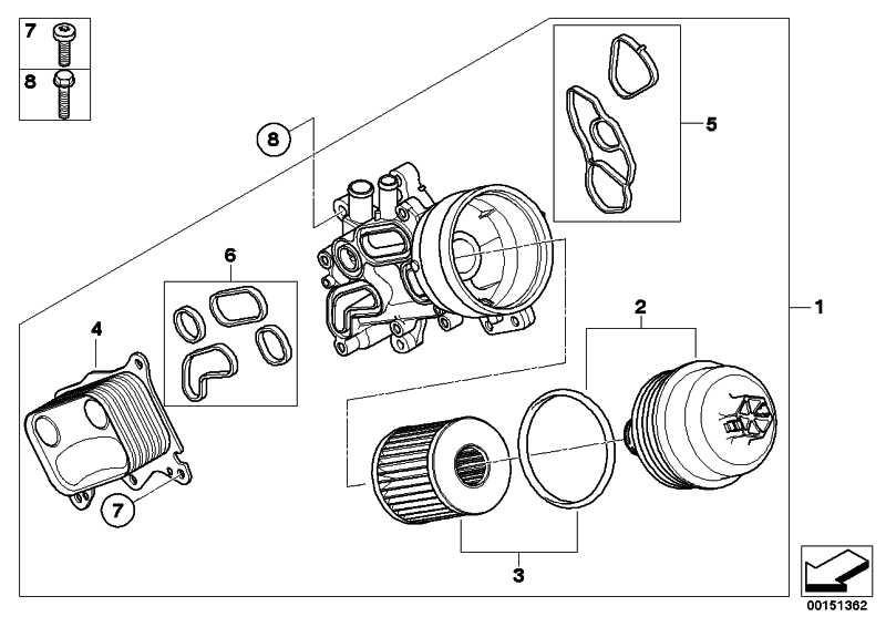 Ölfilter mit Kunststoffdeckel  MINI  (11428643749)