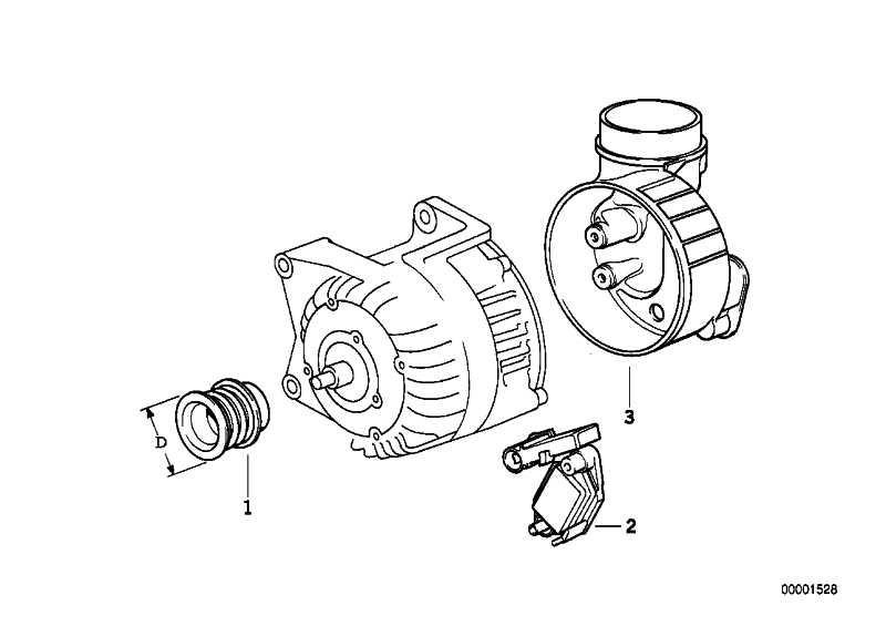 Austausch Kompakt Generator 80A 3er 5er  (12311744565)