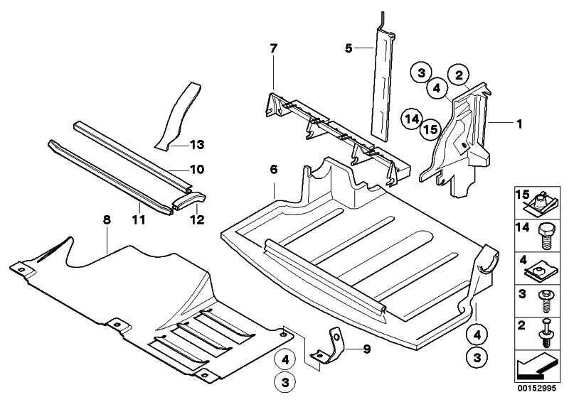 Abschirmung Motorraum  Z4  (51717012723)