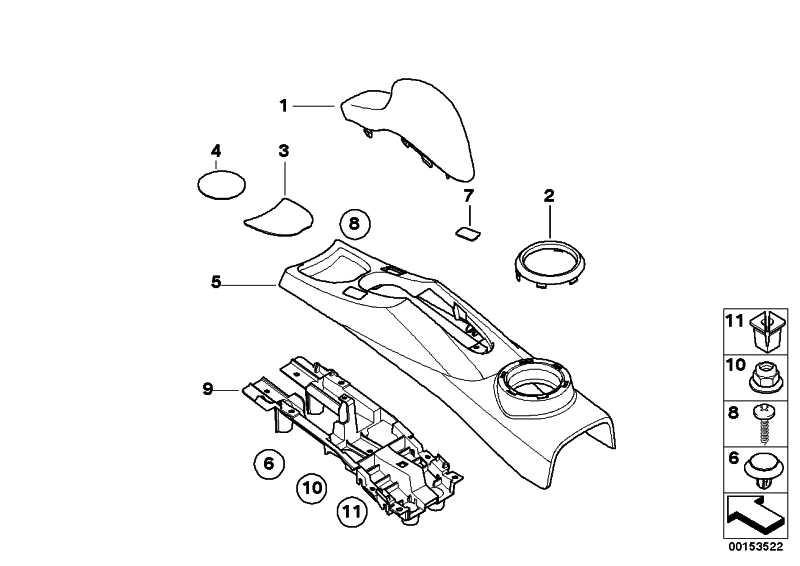 Blende Schalter PDC  MINI  (51167127913)