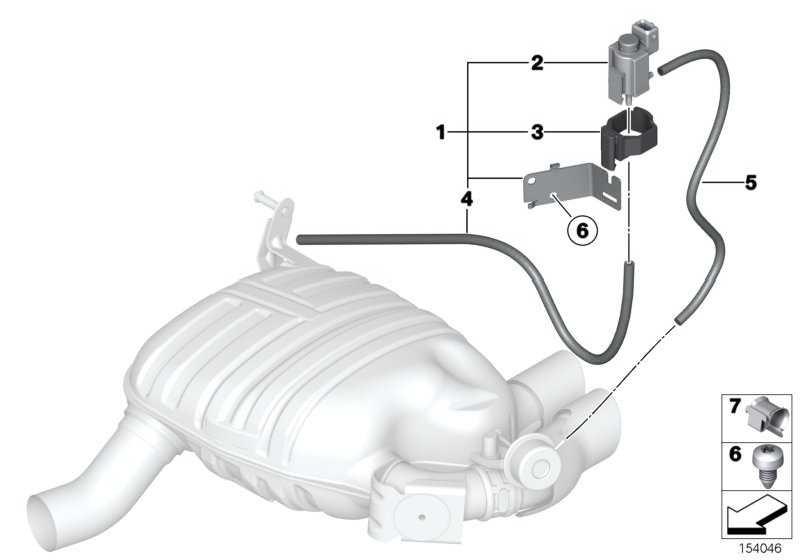 Elektroumschaltventil mit Halter  1er  (18107536937)