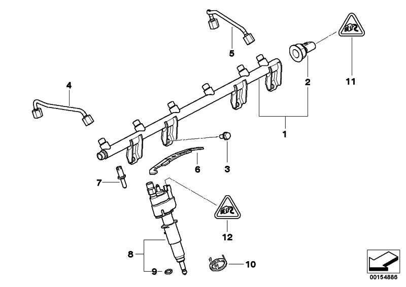 Injektor  1er 3er 5er 6er 7er X5 X6 Z4  (13537585261)