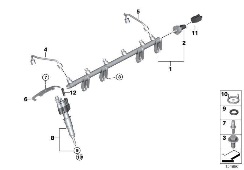 Injektor  1er 3er 5er 6er 7er X5 X6 Z4  (13538616079)