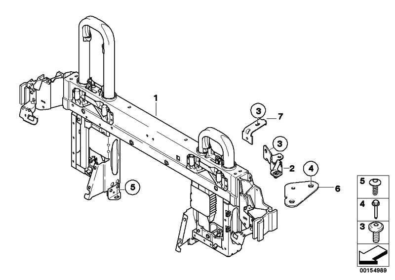 Torx-Schraube mit Scheibe ISA M6X17 3er X5 X6 Z4  (07146986927)