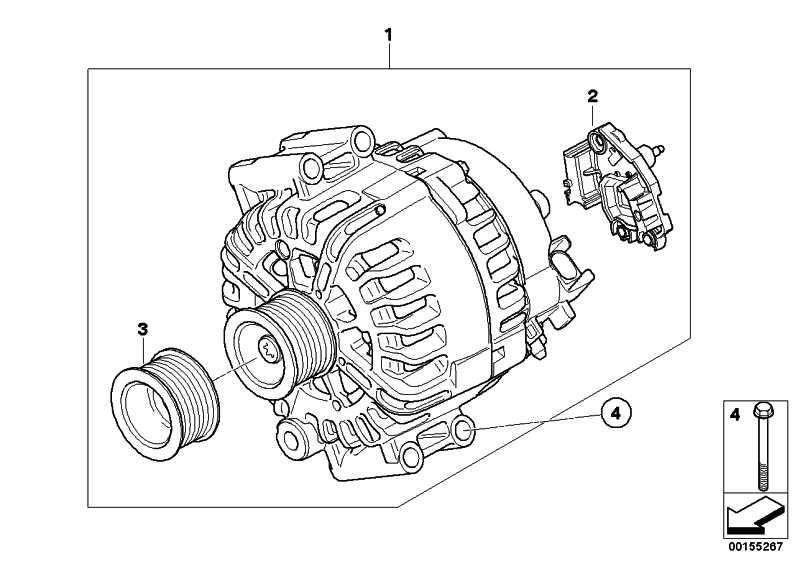 Austausch Generator 170 A           1er 3er  (12317585940)