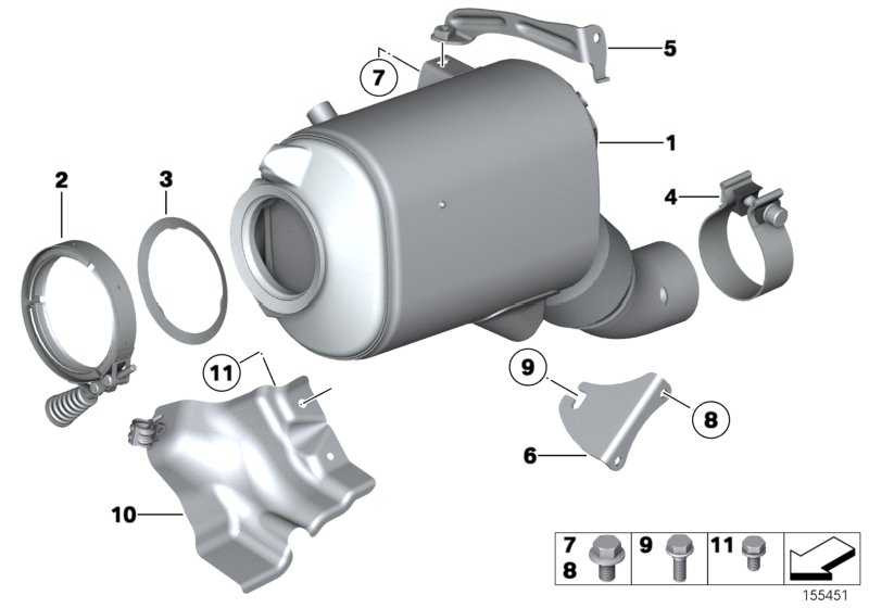 Austausch Dieselpartikelfilter  3er X3  (18307806413)