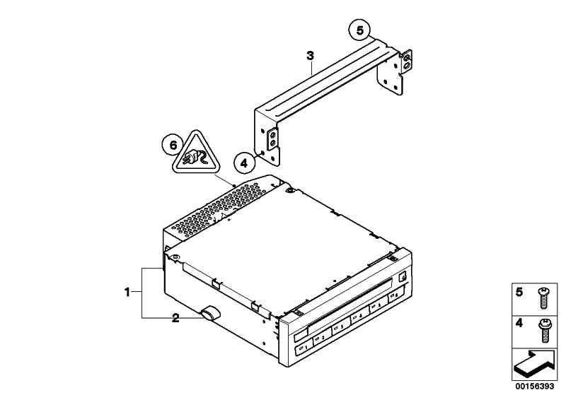 Austausch DVD-Wechsler  X5 X6 Z4  (65129243418)