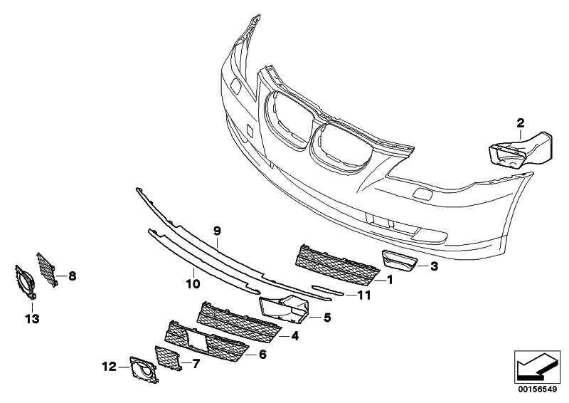 Luftführung Bremse vorne rechts  5er  (51117178086)