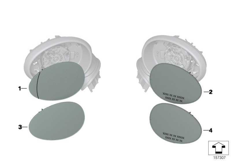 Spiegelglas plan links  MINI  (51162755629)