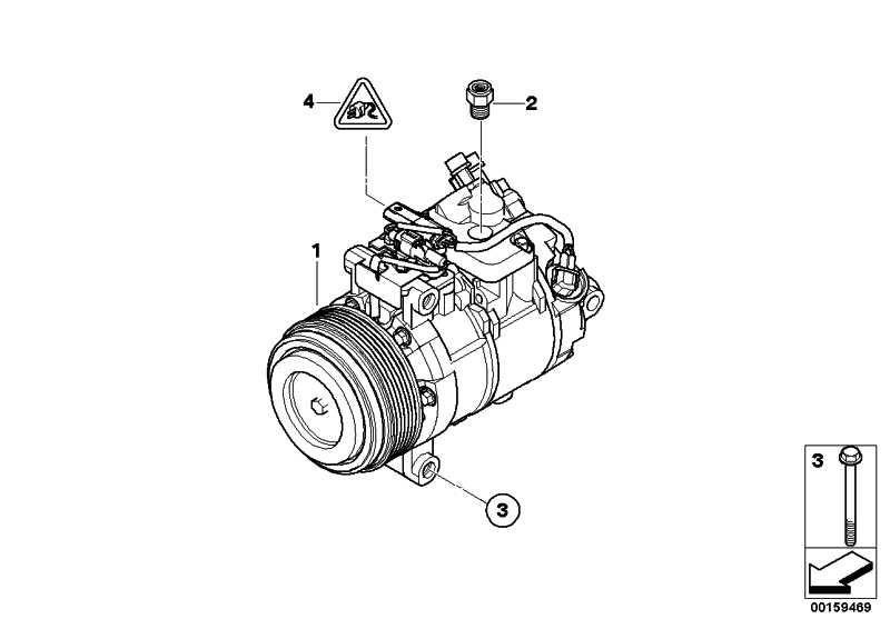 Klimakompressor  1er 3er 5er X1  (64526987862)