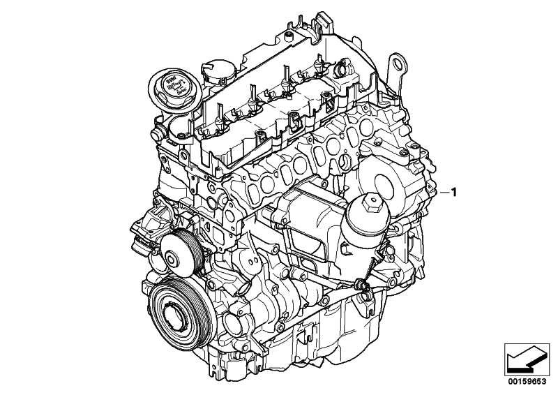 Triebwerk N47D20C         5er  (11002184389)