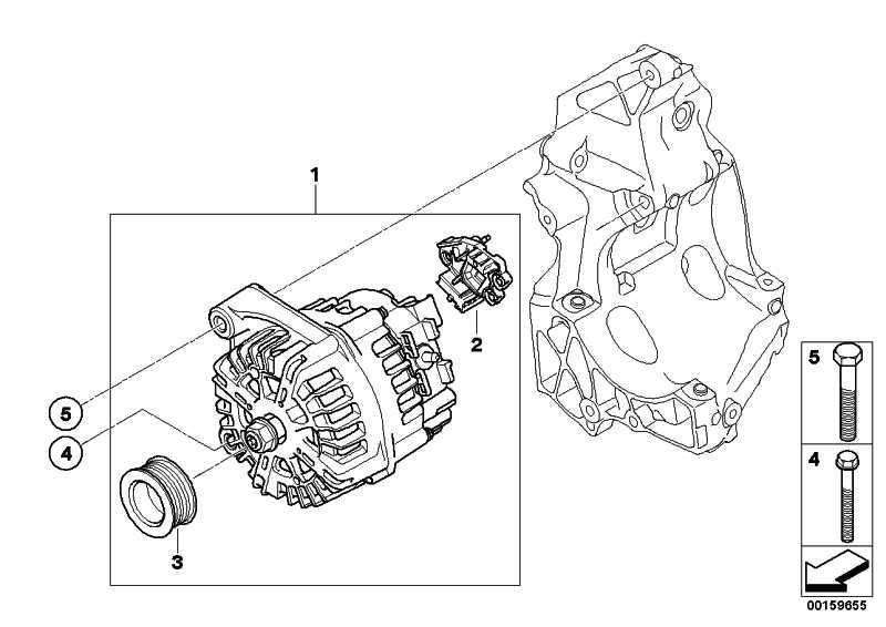 Austausch Generator VALEO 180A      1er 3er 5er X1 X3  (12317802619)
