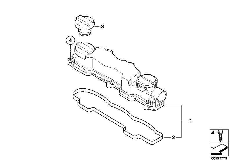 Zylinderkopfhaube  MINI  (11127804877)