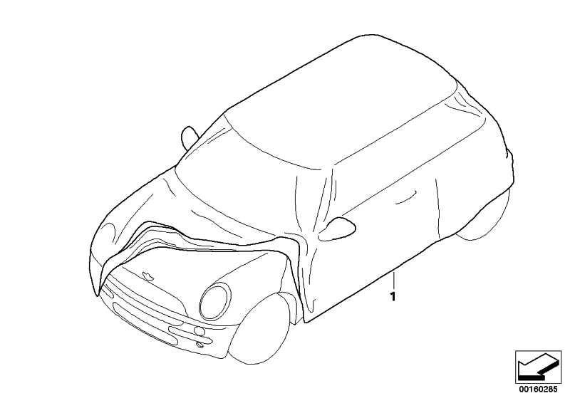 Car Cover Future R60 MINI  (82152181177)