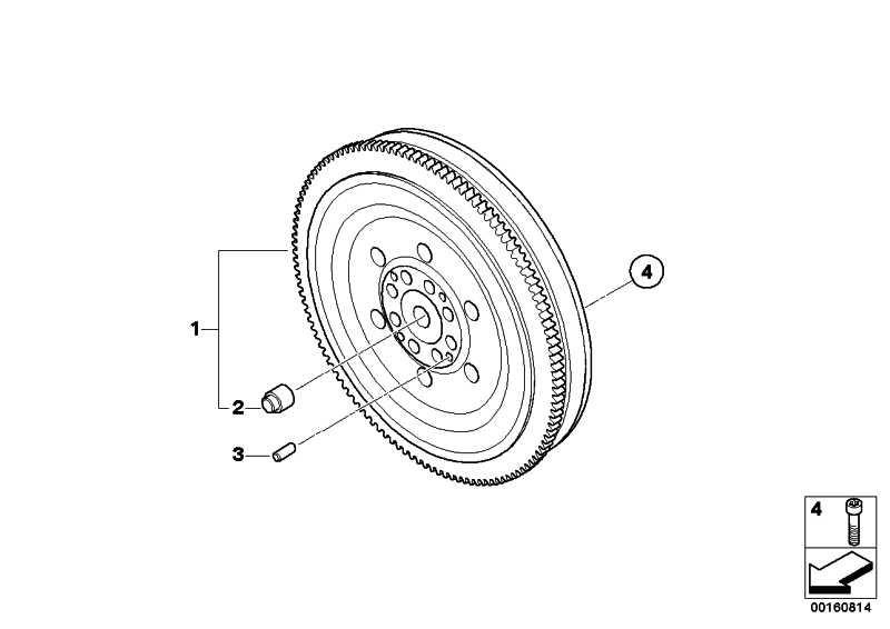Zweimassenschwungrad  1er 3er 5er X1 X3  (21207637279)