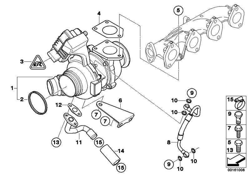 Austausch Turbolader  3er 5er X3  (11658519477)