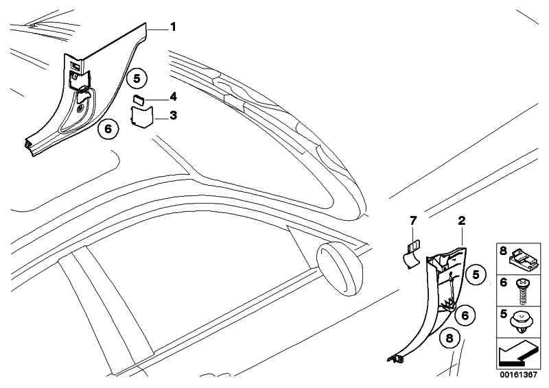 Abdeckung OBD-Stecker SCHWARZ 3er X1  (51437147543)