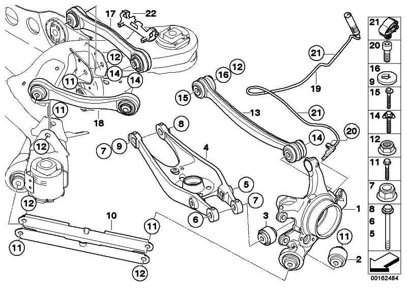 Halter ABS/BVA-Leitung hinten  1er 3er  (34522283017)