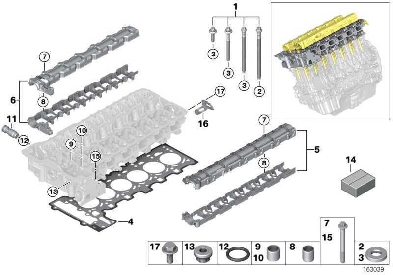 Dichtungssatz Zylinderkopf asbestfrei  3er 1er X6 7er Z4  (11127572758)