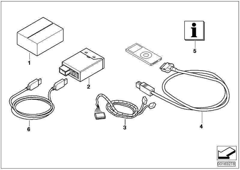 Kabel  1er 3er X1 Z4 MINI  (65112154178)