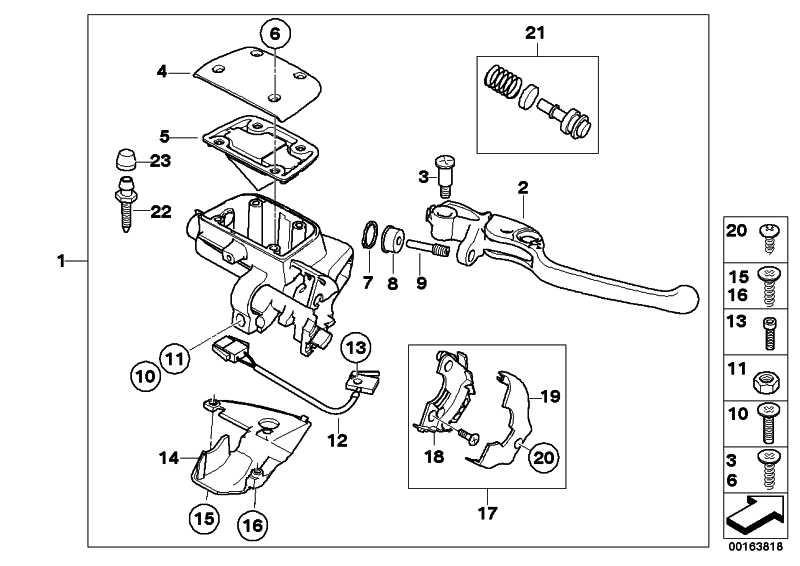 Handarmatur Bremse Integral ABS GF               (32727710201)