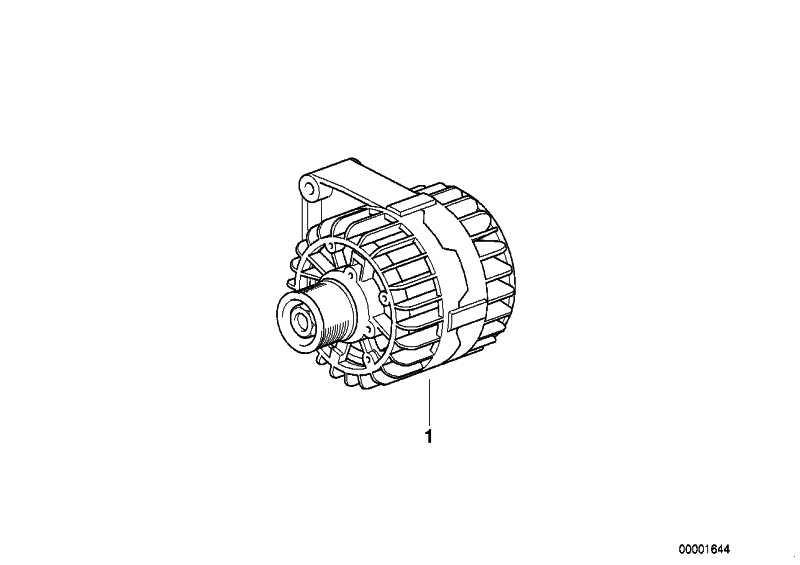 Kompakt Generator  120A           5er Z8  (12311407440)