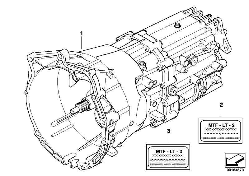 Austausch 6 Gang Getriebe GS6-37DZ - THES 1er 3er 5er  (23007562730)