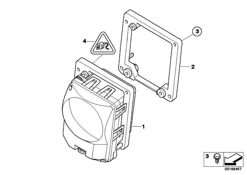 ACC-Sensor  5er 7er  (66316770000)