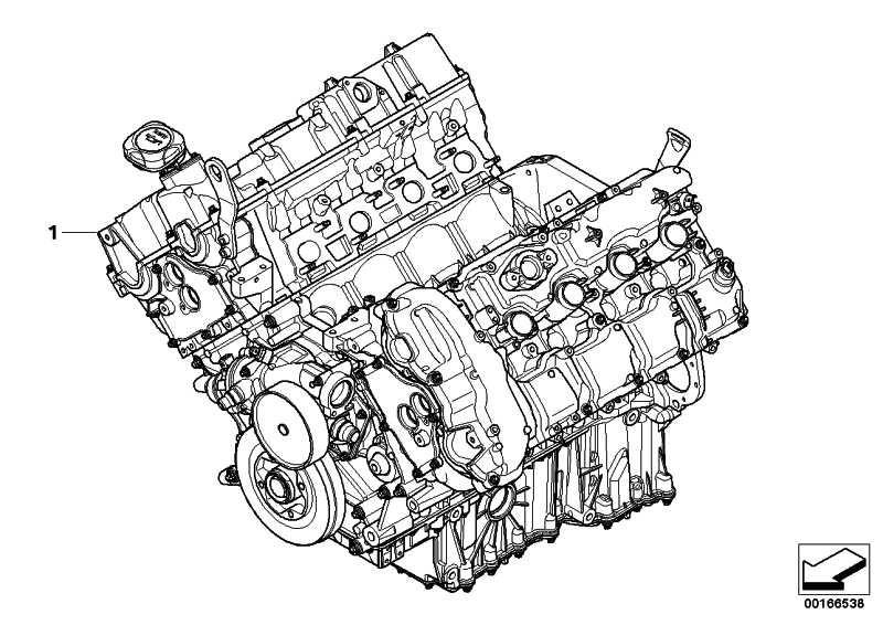 Triebwerk S63B44A         X5 X6  (11002296762)