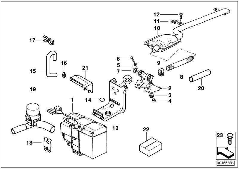 Reparaturkit Standheizung Benzin  5er 7er  (64129145098)