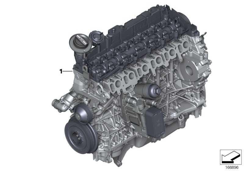 Triebwerk N57D30C         X5 X6  (11002355858)
