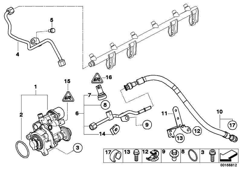 Austausch Hochdruckpumpe  1er 3er 5er 6er 7er X3 X5 X6 Z4  (13517616170)
