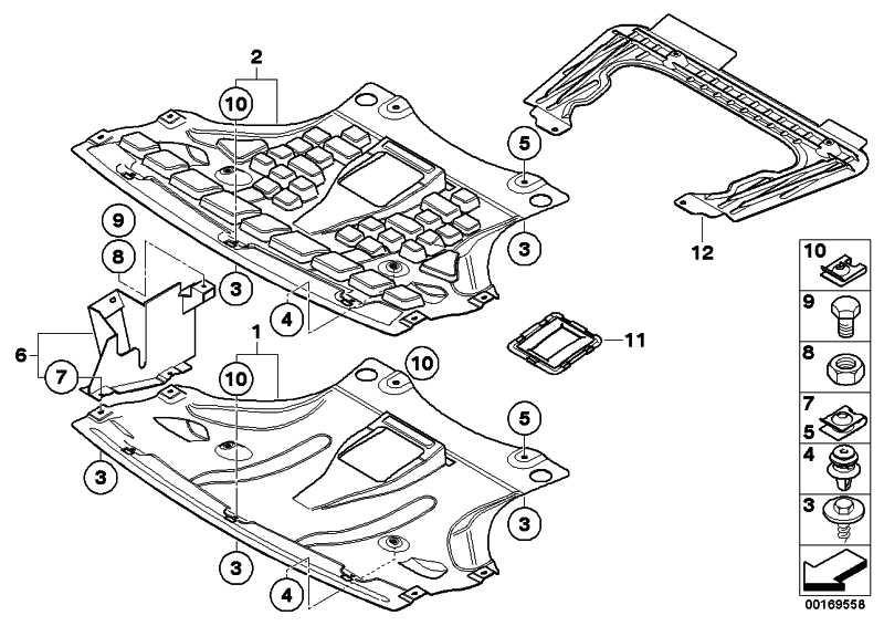 Halter Motorraumabschirmung links  X3  (51713404139)