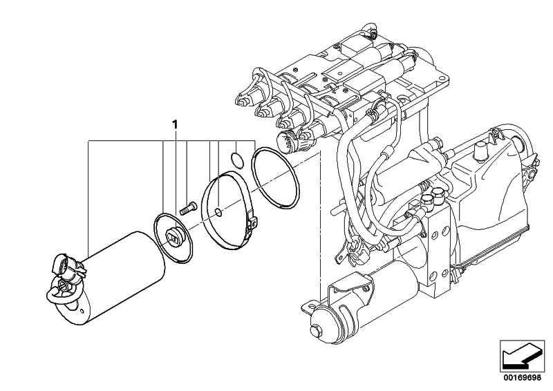 Satz Elektromotor  5er 6er  (23017841032)