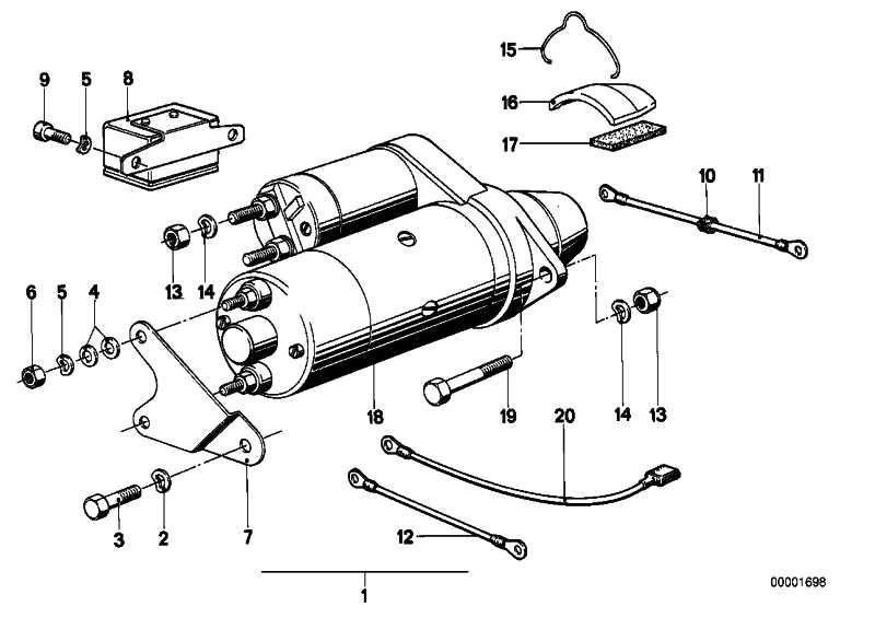 Sechskantschraube M6X16-8.8-ZNS 3er 5er 7er 8er X5 Z1 Z3 Z4 Z8 MINI  (07119913015)