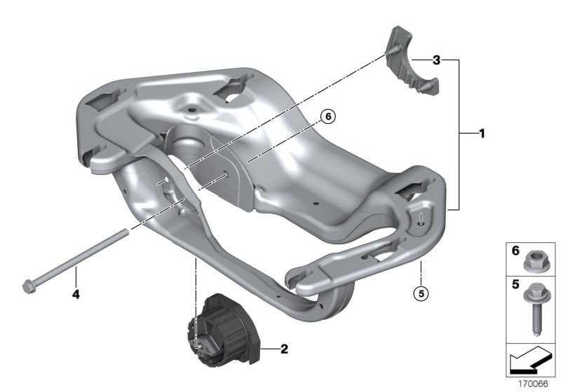 Getriebelager  X5 X6  (22316864675)