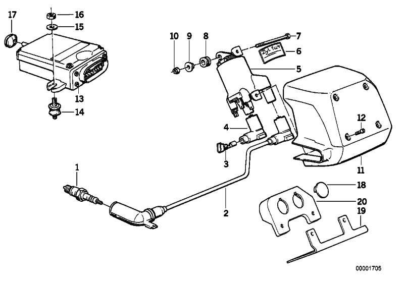 Zündkerze X5DC             (12129062217)