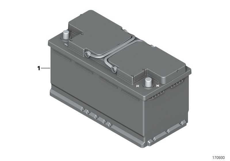 Lithium-Ionen Starterbatterie 69AH 3er 4er  (61217857133)