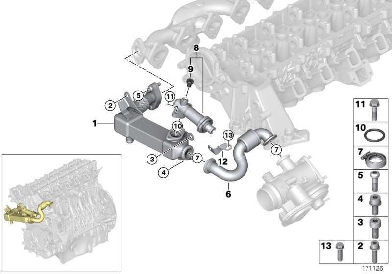 Rohrleitung  3er 5er 6er X3 X5 X6  (11717811788)