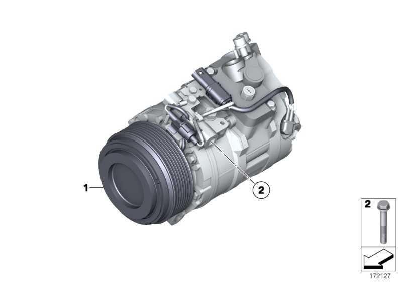 Klimakompressor  5er 7er X5 X6  (64526987890)