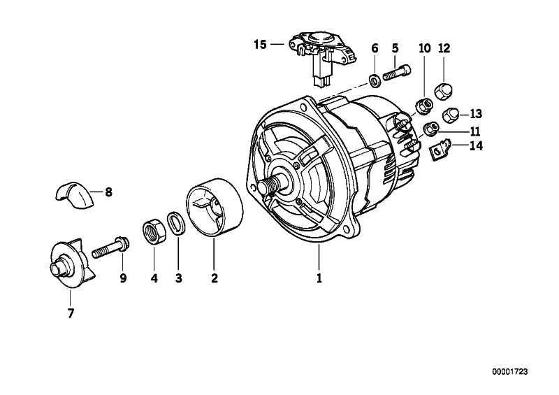 Generator 50A  (12312306020)