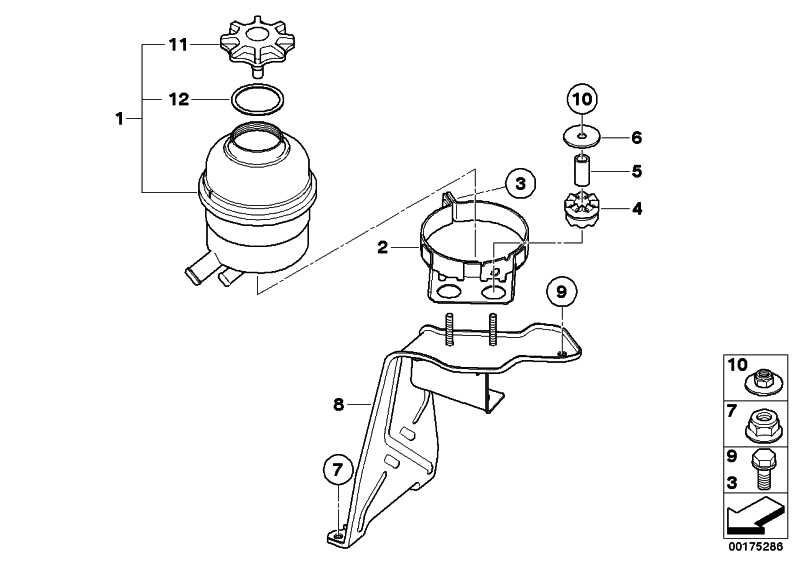 Halter Ölbehälter  1er 3er  (32416771807)