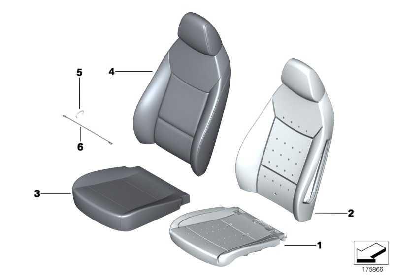 Bezug Basis Sitz Leder links BEIGE           Z4  (52107213891)