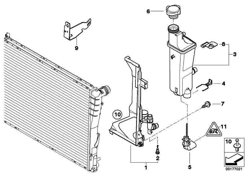 Montageplatte  3er  (17111436250)