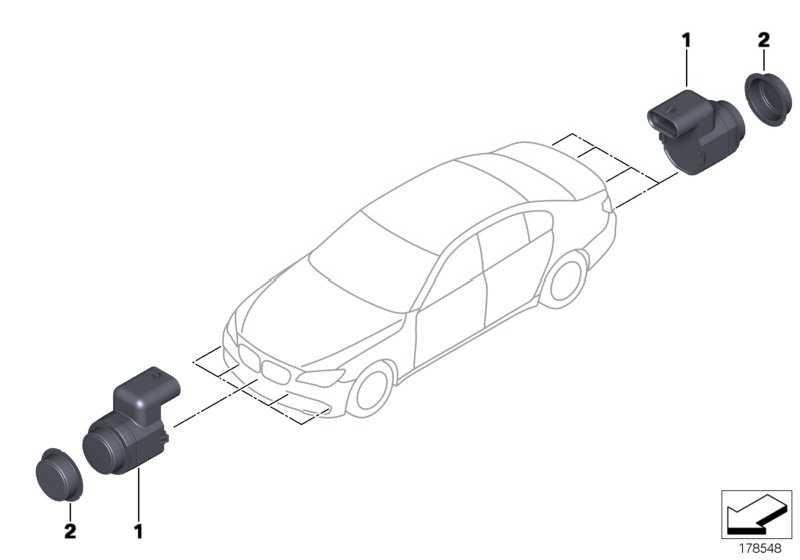 Ultraschallwandler Sophistograu WA90 WB90 5er 7er X5 X6  (66209270050)
