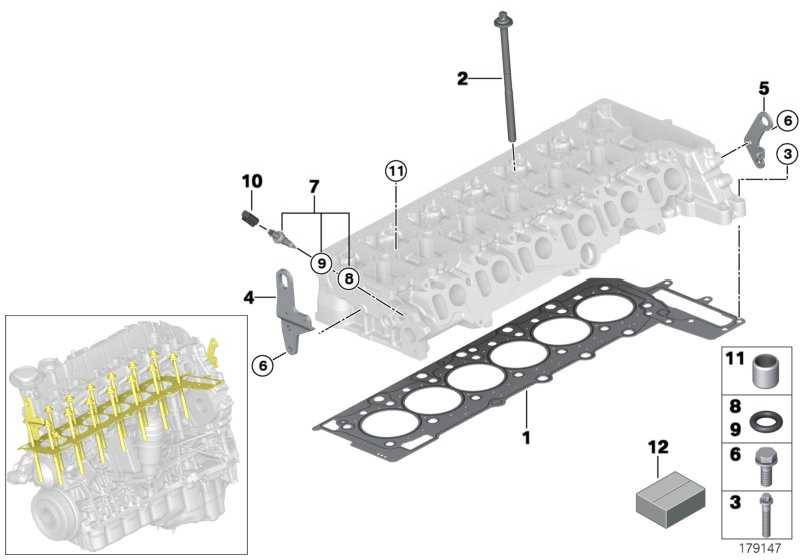 Zylinderkopfdichtung asbestfrei 1-LOCH          3er 5er 7er X5 X6  (11127809755)
