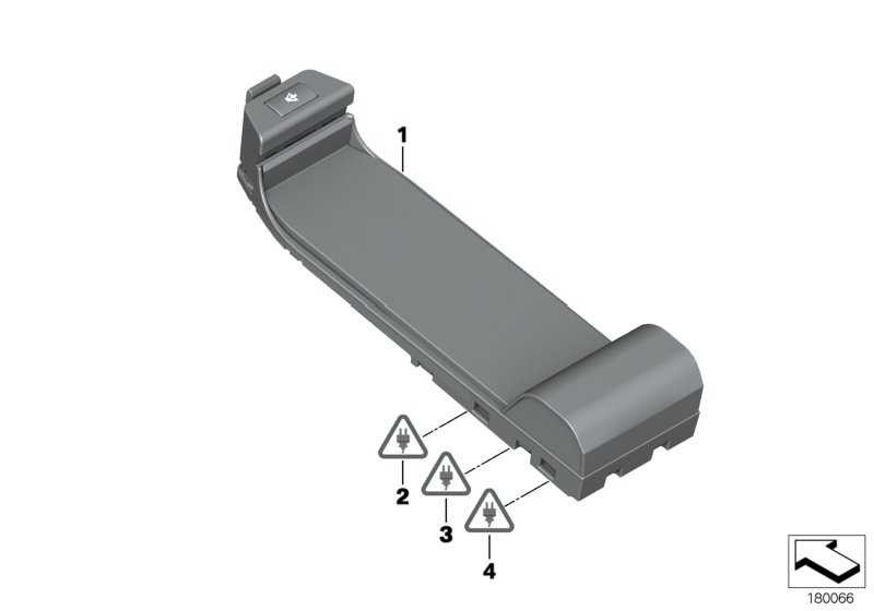 Grundplatte  1er 3er X1 Z4  (84109223098)